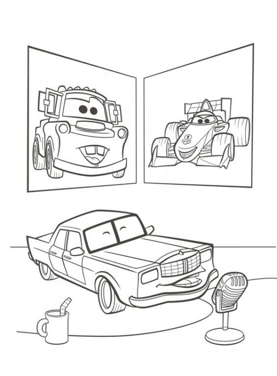 Kleurplaten Van Cars 2.Kleurplaten En Zo Kleurplaat Van Cars 2