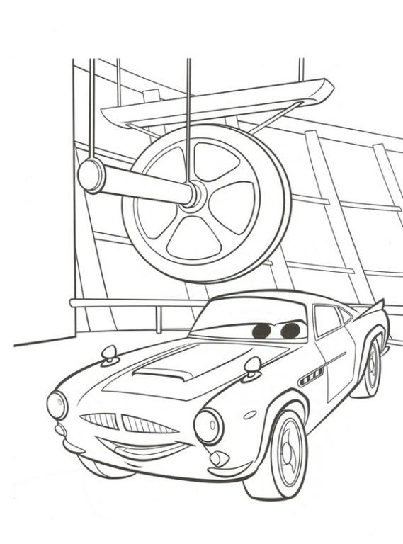 Kleurplaten Francesco Cars 2.Kleurplaten En Zo Kleurplaten Van Cars 2