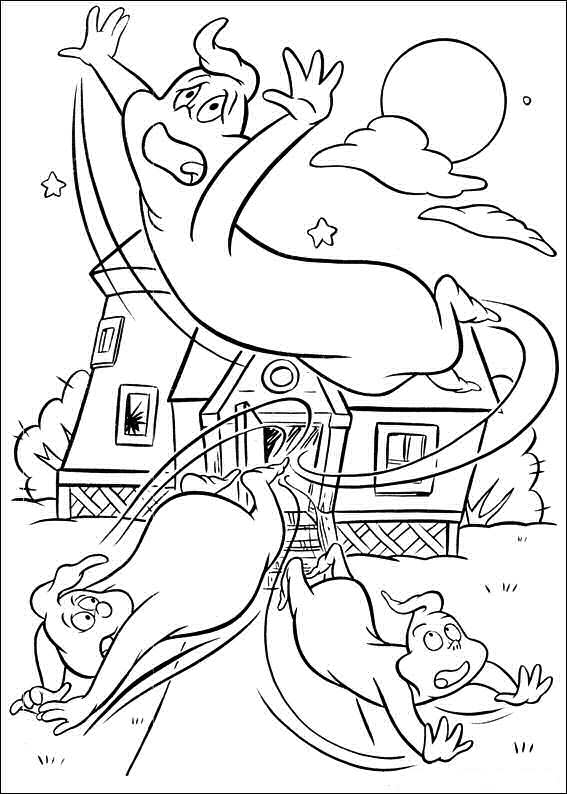 Casper Halloween Coloring Pages