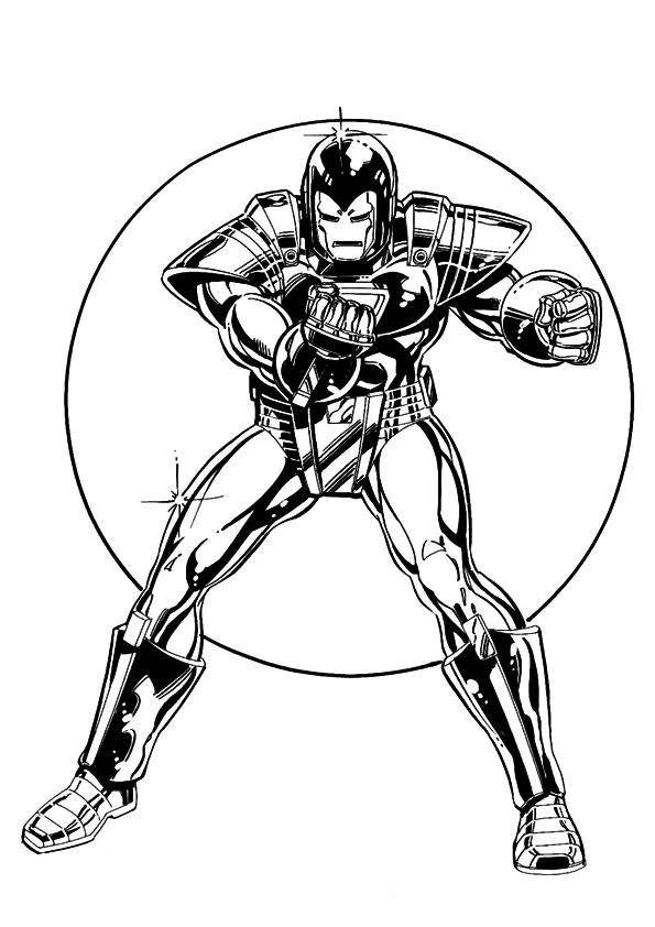 Kleurplaten en zo kleurplaten van iron man for Tony stark coloring pages