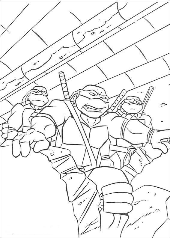 Kleurplaten Ninja Turtles.Kleurplaten En Zo Kleurplaat Van Ninja Turtles