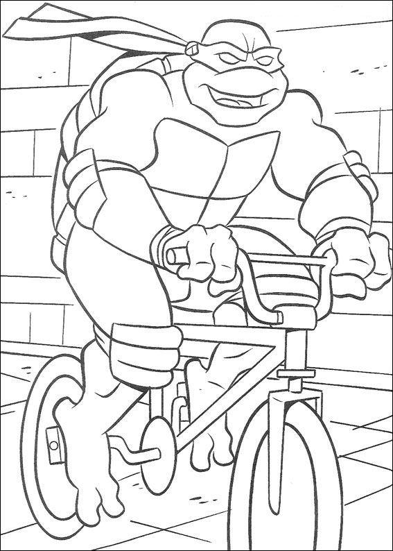 Kleurplaten Van Ninja Turtles.Kleurplaten En Zo Kleurplaten Van Ninja Turtles