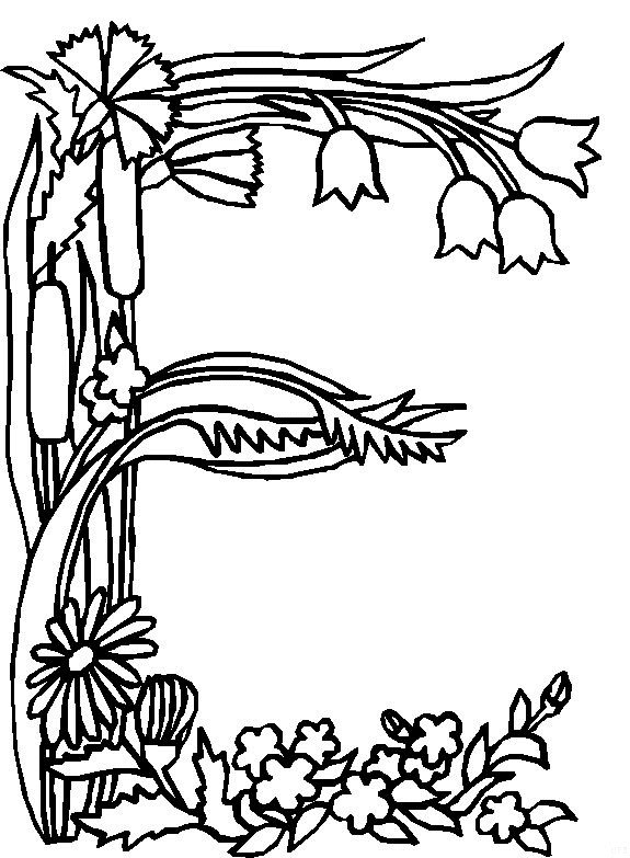 424 further Happy Birthday Coloring Pages For Adults Toddlers in addition Roses Coloring Pages in addition Bee Coloring Pages together with Floral Coloring Pages. on flower coloring pages printable for kids