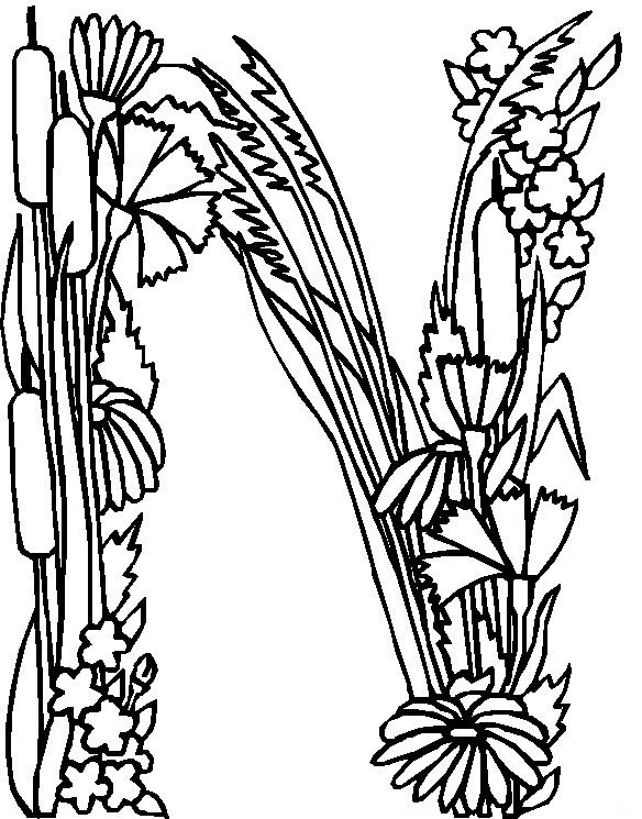 abcs coloring pages free prints - photo #34