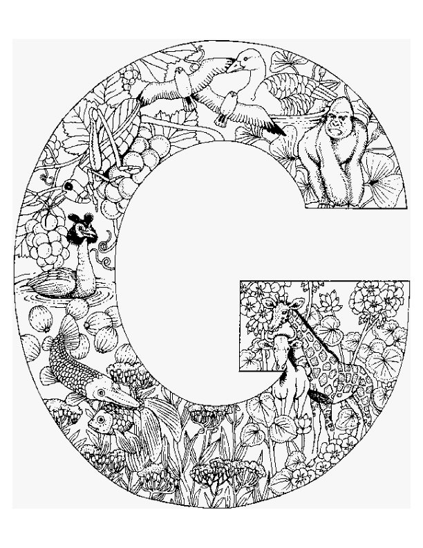 Coloring Pages For Alphabet Animals : Kleurplaten en zo van alfabet dieren