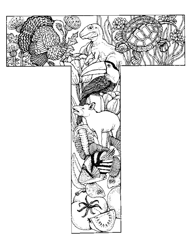 Kleurplaten Letters Met Dieren.Kleurplaten En Zo Kleurplaten Van Alfabet Dieren