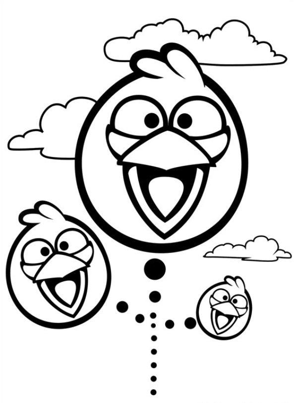 Kleurplaten Van Angry Birds.Kleurplaten En Zo Kleurplaten Van Angry Birds