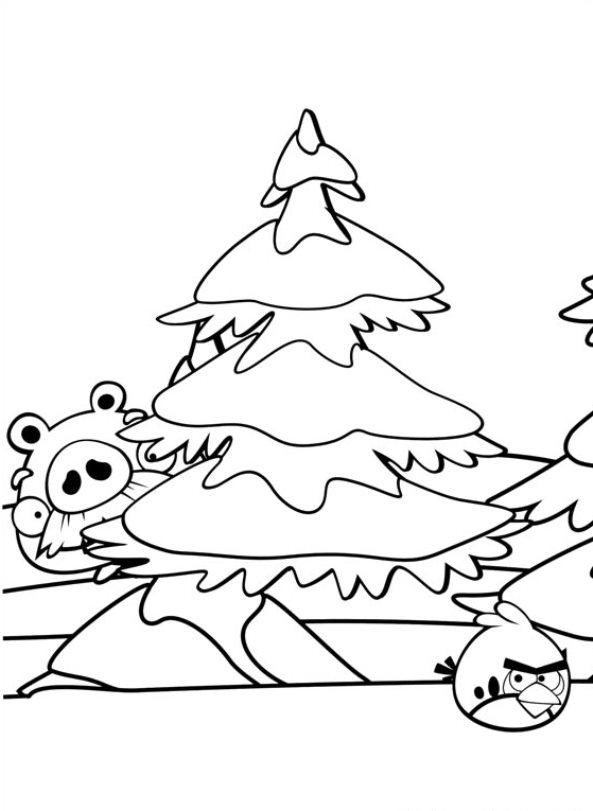 Kleurplaten Angry Birds Epic.Kleurplaten En Zo Kleurplaten Van Angry Birds