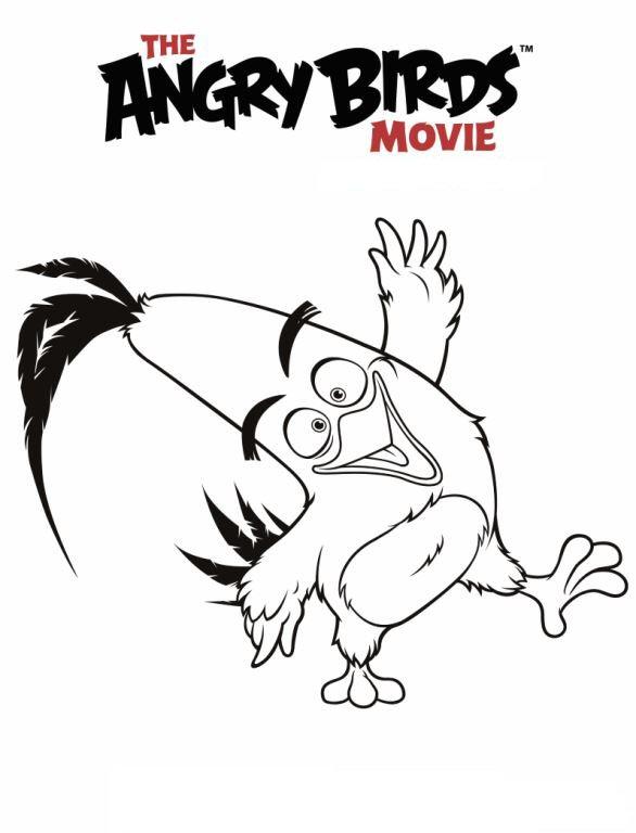Kleurplaten Van Angry Birds.Kleurplaten En Zo Kleurplaten Van Angry Birds De Film