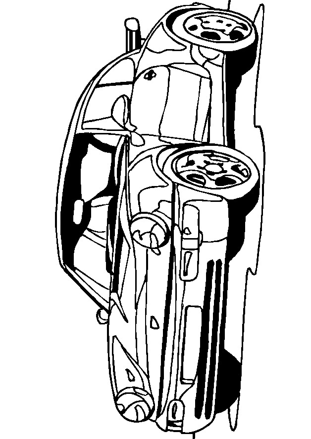 Kleurplaten Autos Porsche.Kleurplaten En Zo Kleurplaat Van Porsche