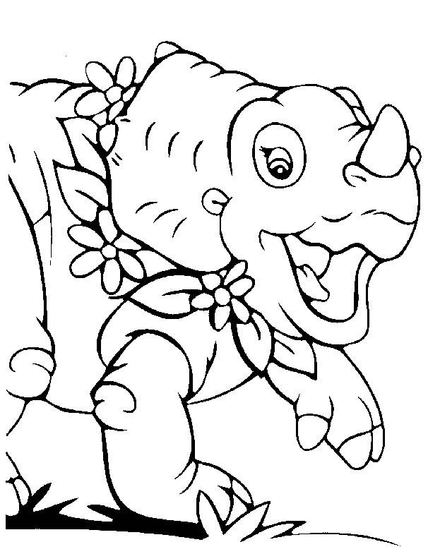 Kleurplaten En Zo 187 Kleurplaten Van Baby Dinosaurussen