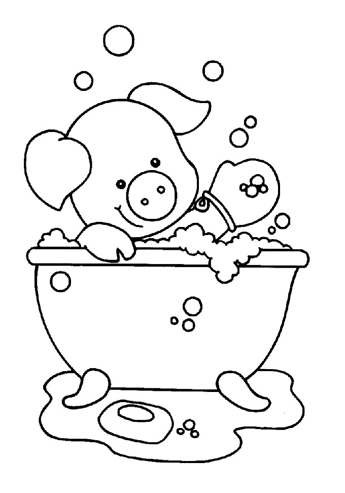 Animal Coloring pages  R  EnchantedLearningcom