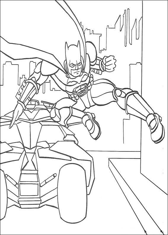 Kleurplaten Batman En Robin.Kleurplaten En Zo Kleurplaten Van Batman
