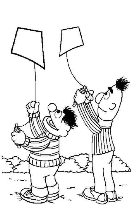 Bert Coloring Pages