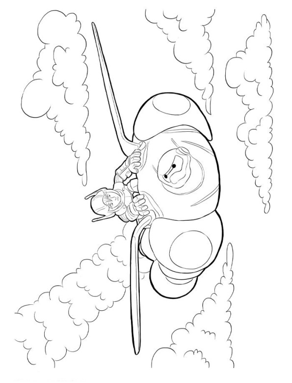 ba max coloring pages - photo #7