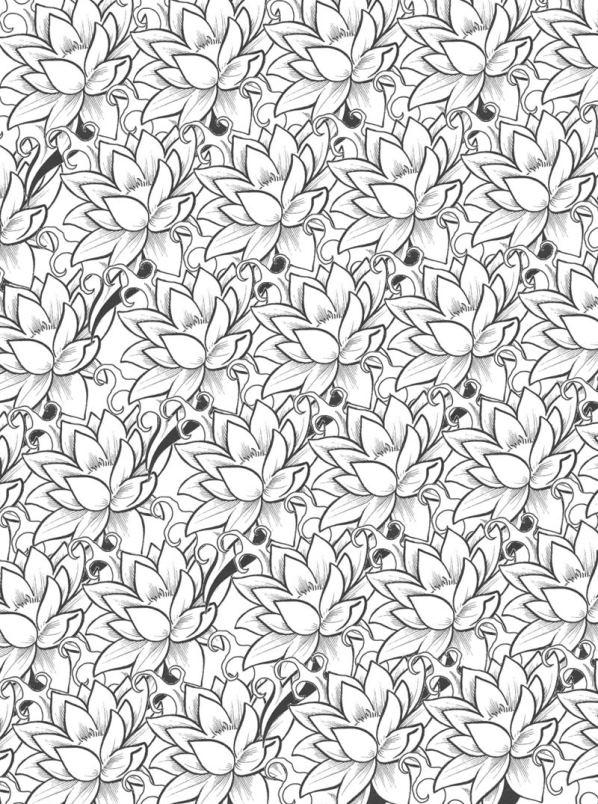 Kleurplaten En Zo 187 Kleurplaat Van Bloemen Voor Volwassenen