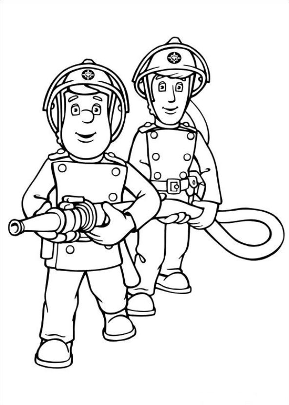 Free Coloring Pages Of Fireman Sam Of Tom Fireman Sam Coloring Pages