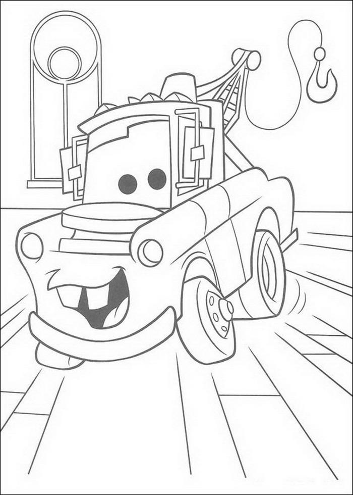 kleurplaten en zo  u00bb kleurplaten van cars  pixar