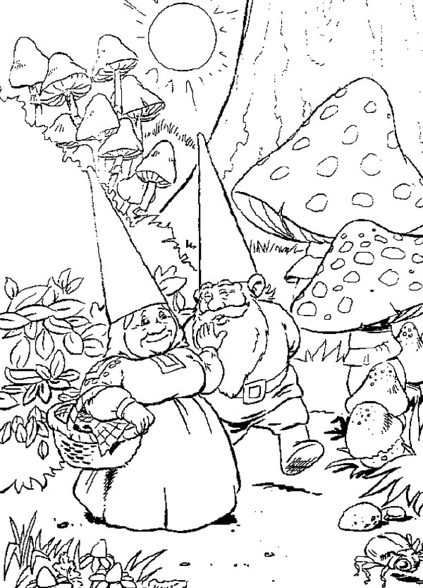 detailed printable fantasy coloring pages - photo#15