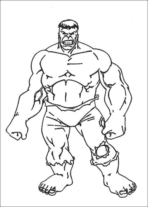 Kleurplaten En Zo 187 Kleurplaten Van Hulk