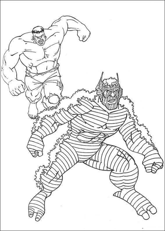 Kleurplaten Hulk.Kleurplaten En Zo Kleurplaat Van Hulk