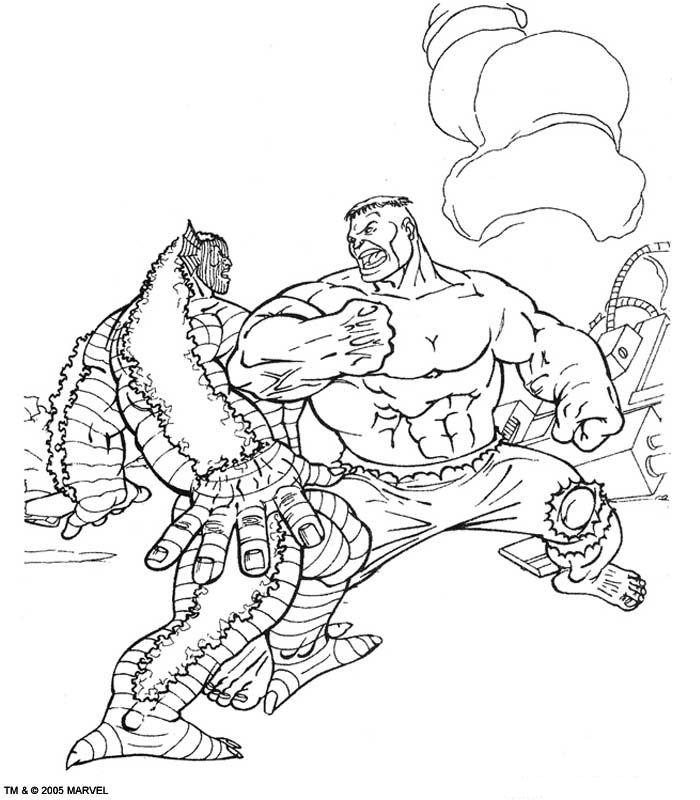 Kleurplaten De Hulk.Kleurplaten En Zo Kleurplaten Van Hulk