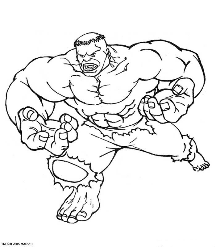 lego red hulk coloring pages - photo #10