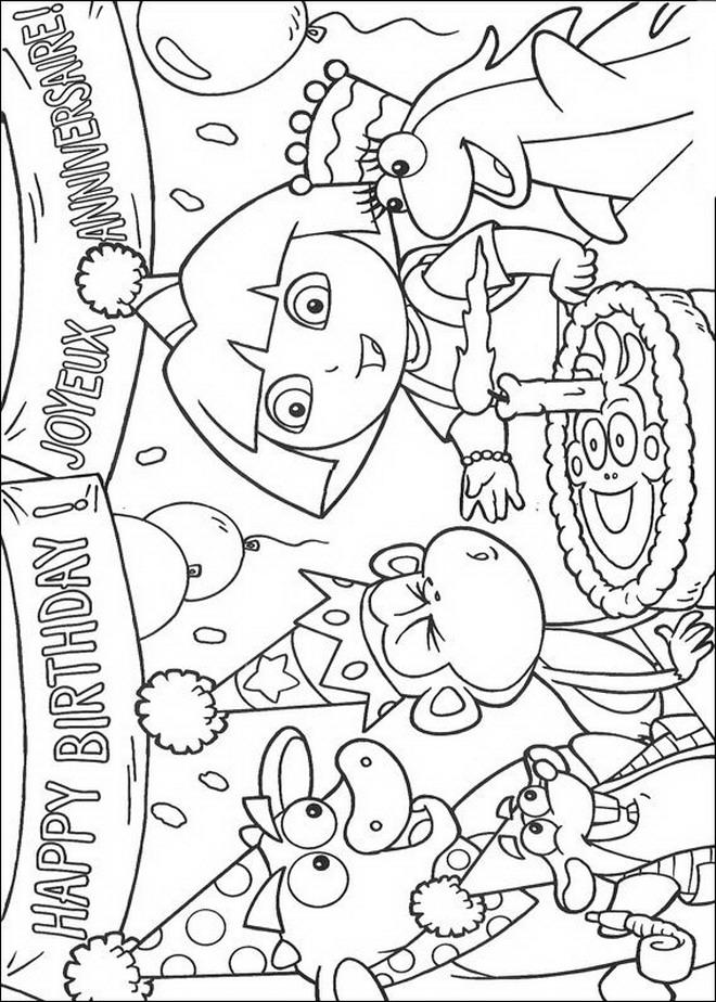 Kleurplaten En Zo Dora.Kleurplaten En Zo Kleurplaten Van Dora De Verkenner