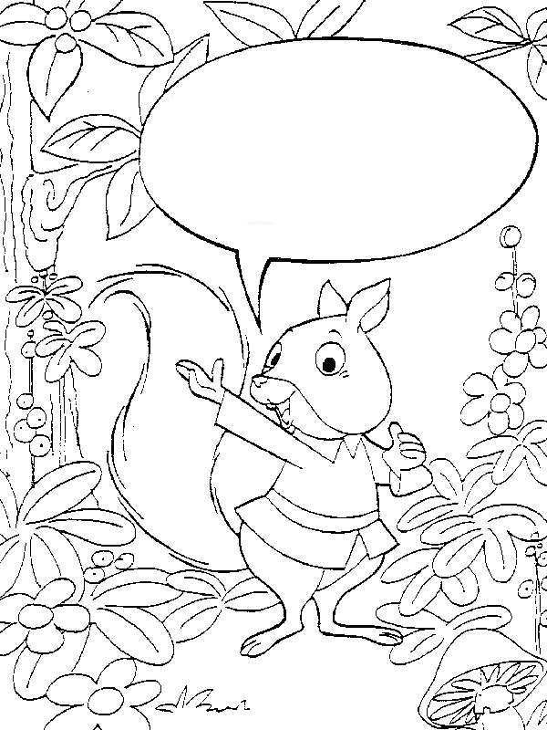kleurplaten en zo 187 kleurplaten eekhoorn