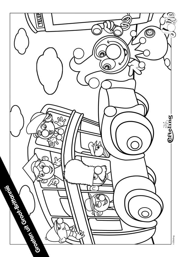 Efteling Kleurplaat Jokie Kleurplaten En Zo 187 Kleurplaten Van Efteling Jokie