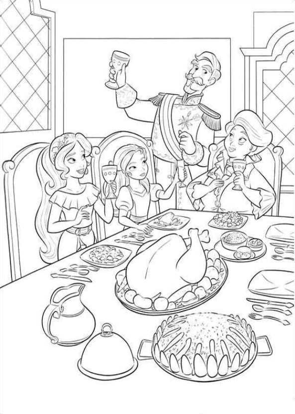 Images Of Sofia The First Coloring Pages