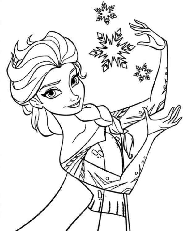 Kleurplaten En Zo Kleurplaat Van Elsa 5