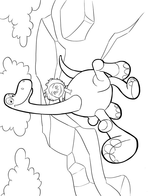 Kleurplaten Dinosaur Disney.Kleurplaten En Zo Kleurplaten Van Good Dinosaur