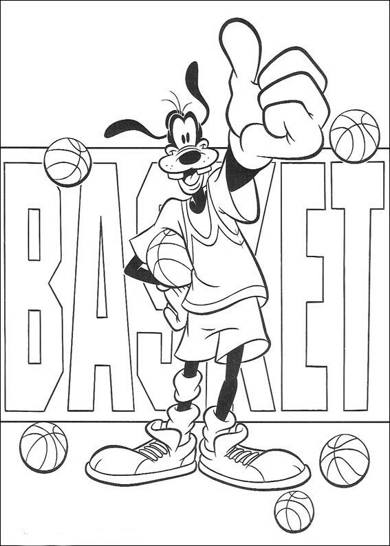 Goofy basketbalt
