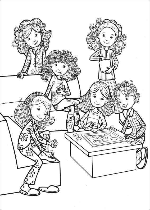 spice girl coloring pages - photo#7