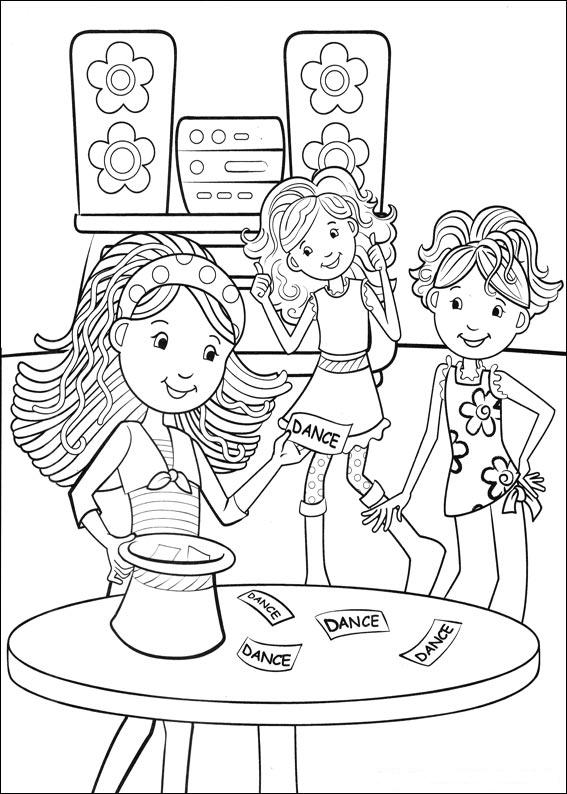printable groovy girls coloring pages - photo#26