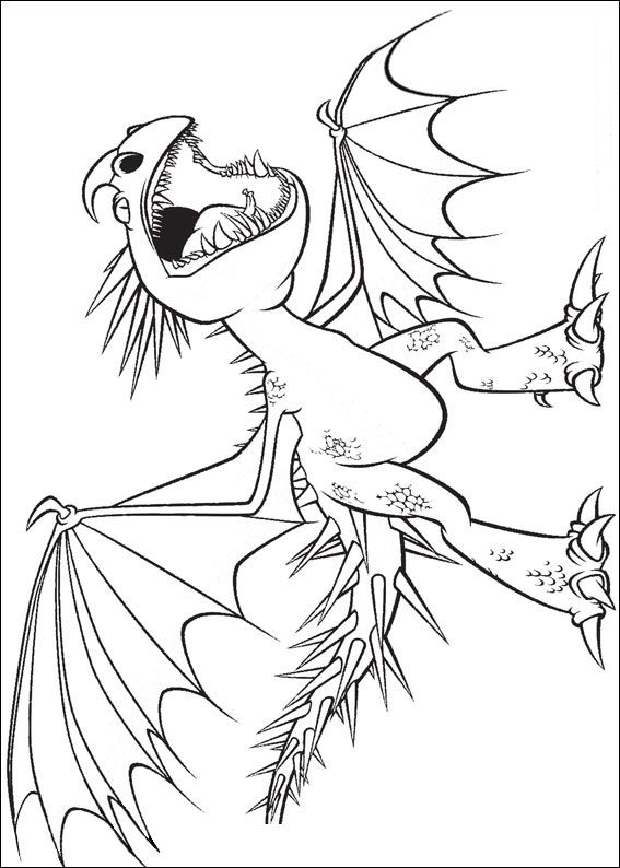 Free Coloring Pages Of Astrid And Stormfly
