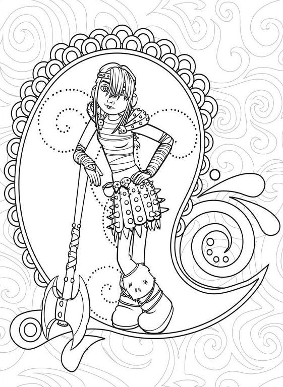 Kleurplaten En Zo Kleurplaat Van How To Train Your Dragon