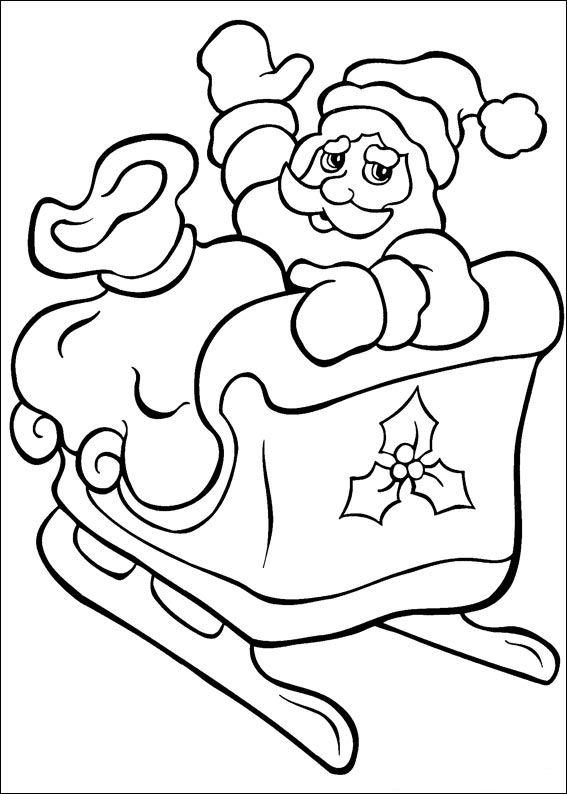 Kleurplaten En Zo 187 Kleurplaat Van Kerstmis