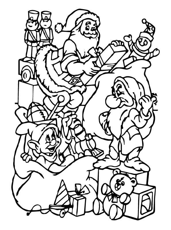 Kleurplaten Voor Volwassenen Kerstmis.Kleurplaten En Zo Kleurplaten Van Kerstmis Disney