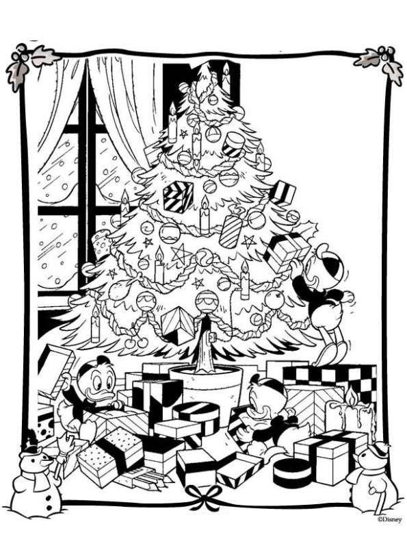 Kerst Disney Kleurplaten Archidev