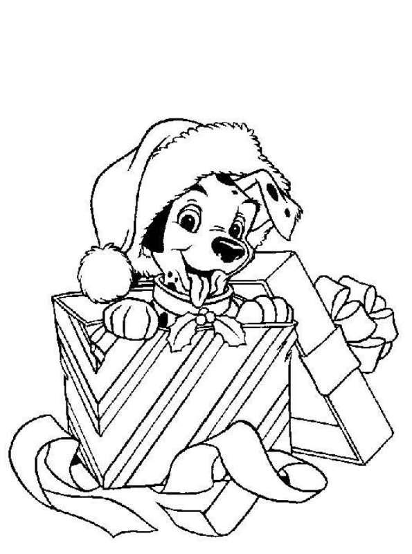Kleurplaten en zo kleurplaat van kerstmis disney for Disney princess christmas coloring pages printable