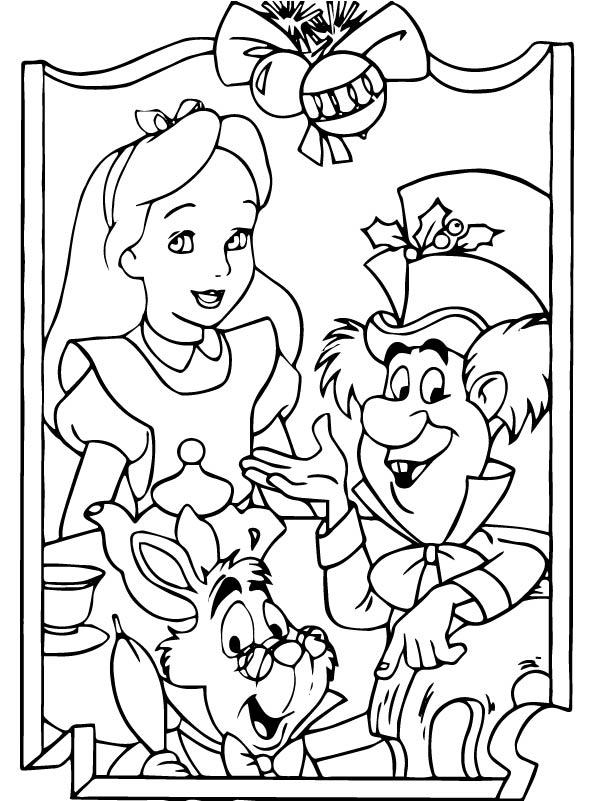 Kleurplaten En Zo Kleurplaat Van Kerstmis Disney