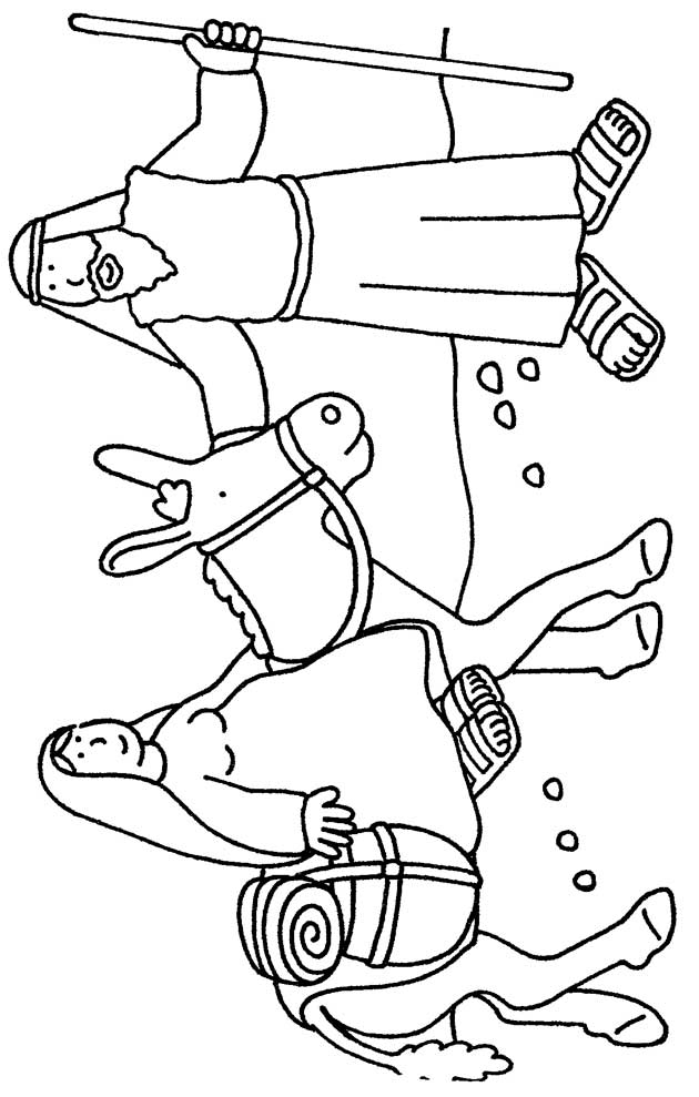 Coloring Pages Christmas Nativity