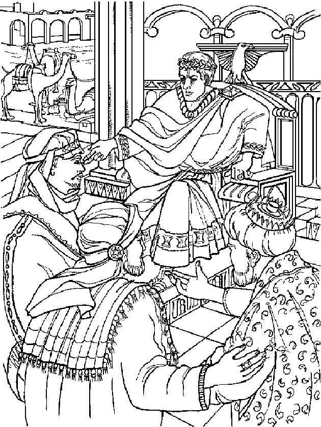 Kleurplaten En Zo Kerst Kleurplaten En Zo 187 Kleurplaat Van De Drie Koningen Bij