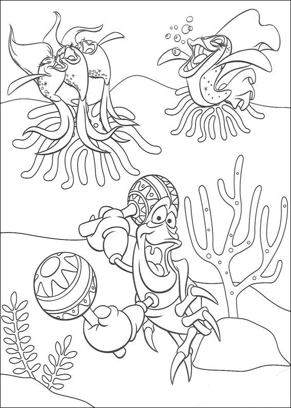 Zeemeermin Kleurplaat Staart Kleurplaten En Zo 187 Kleurplaten Van De Kleine Zeemeermin