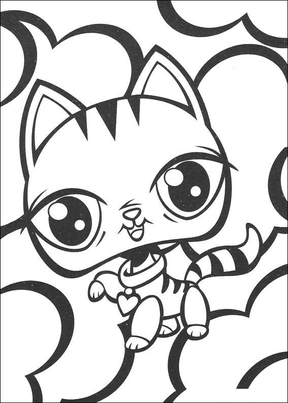 Nieuw kleurplaten en zo » Kleurplaten van littlest pet shop (kleinste NL-71