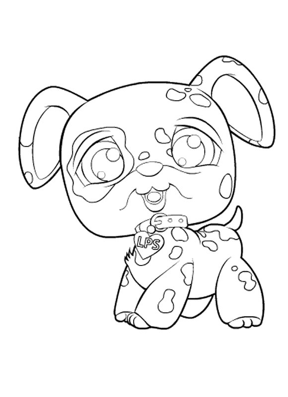 lps coloring pages kitten - photo#20