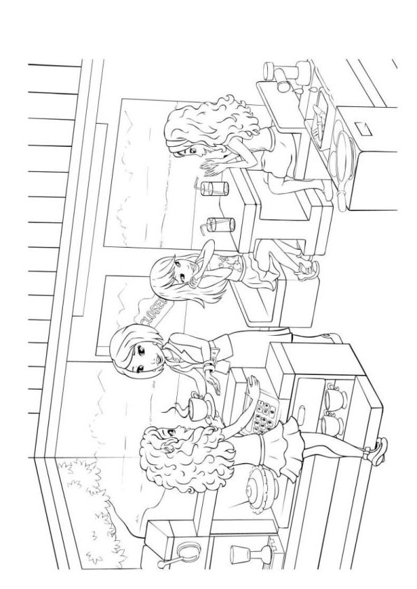 Andrea lego friends coloring pages coloring pages for Coloring pages of lego friends