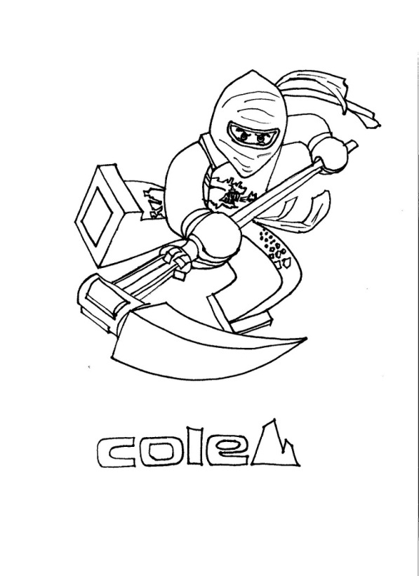 lego coloring pages ninjago nindroid - photo #5